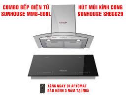 Trả góp 0%]BẾP ĐÔI ĐIỆN TỪ SUNHOUSE MAMA MMB888DI - Bếp từ đôi Inverter  nhập khẩu nguyên chiếc Thái Lan - Bảo hành 36 tháng