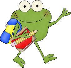 Image result for frog clipart for teachers