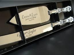 Amazon Com Personalized Wedding Cake Knife And Server Set With