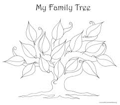 Family Tree Coloring Pages Printable 28802 Longlifefamilystudyorg