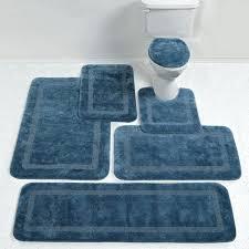 blue bathroom rugs navy blue bath rugs and white bathroom striped rug reversible round navy blue