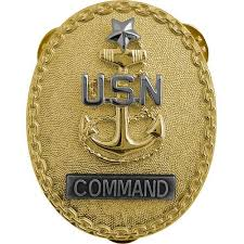 Identification Badge Usamm Navy Officer Chief Petty