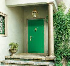 green front doorsMake a Dramatic First Impression 15 Painted Front Doors