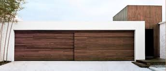 modern garage doors. Each Contemporary Wood Garage Modern Doors I