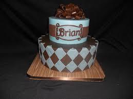 Argyle Mens 50th Birthday Cake Cakecentralcom