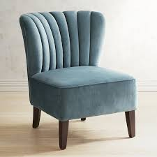 Teal Chair Emille Pool Blue Channel Back Chair Pier 1 Imports