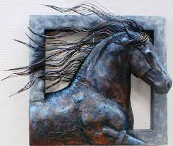 >3d horse wall art elitflat wall art designs awesome 10 metal wall art sculpture