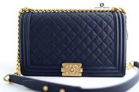 18P NWT CHANEL Quilted Le Boy NEW Medium BLUE CAVIAR Leather w ... & Image is loading 18P-NWT-CHANEL-Quilted-Le-Boy-NEW-Medium- Adamdwight.com