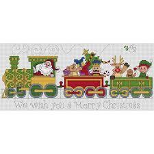 Train Chart Download Santa Train Cross Stitch Chart Download Train Cross Stitch