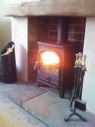Wood Burning Stoves | Image via uk.pinterest.com  Wood FireplaceFireplace  IdeasInglenook ...