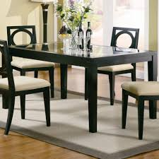 delightful dining room furniture hexagon rattan cottage light yellow wood lacquered natural hickory assembled tiny best