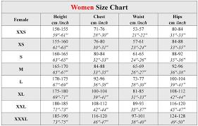 Size Chart Bibi Products Llc