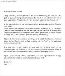 Cover Letter For Class Teacher Lezincdc Com