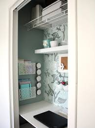 turn closet into office. Turn Closet Into Office. Utilize Spaces With Creative Shelves Interior Design Office G
