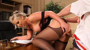 Horny Blonde Housewife Fucks the Plumber from OMG. It s The Nanny.