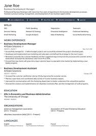 Us Resume Template Magnificent 48 Business Resume Template Fitted kenyadreamus