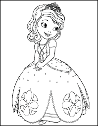 Sofia The First Coloring Page The First Coloring Pages The First