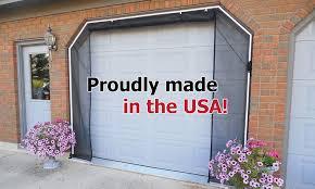 garage door screen systemFrancis ZIPROLL Screen  Outdoor Retractable Garage Screens