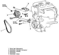 how do i remove my alternator in my 95 mitsubishi click image to see an enlarged view