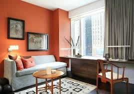 home office cable management. Home Office Cable Management Orange Accent Wall Contemporary With Horse Art .