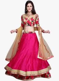 lehenga cholis buy designer wedding lehenga cholis online for Wedding Lehenga Price chamunda enterprise embroidered women's lehenga, choli and dupatta set wedding lehenga price in india