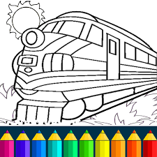 See more ideas about train coloring pages, coloring sheets, coloring pages. Train Game Coloring Book For Kids Apps On Google Play
