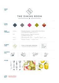 Design Agency Tunbridge Wells Dining Room Pr Brand Board Branding For Tunbridge Wells Pr