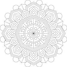 Small Picture Calming Thoughts Coloring Page