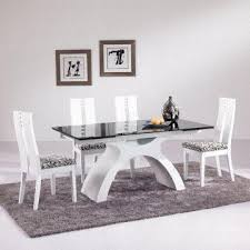 china 8 seater extendable glass dinner table set glass table top