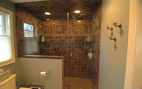 shower stall lighting. Bathroom, Amazing Tile Shower Stalls With Doorless And Recessed Lighting Large Showers Small Walk In Stall