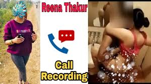 Reena Thakur And Upen Pandit Wife Call Recording Ll Bjp Leaders Reena Thakur Viral Video And Audio