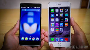 one plus one size iphone 6 plus vs oneplus one quick look