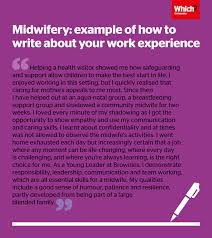 University Personal Statement Examples Midwifery Personal Statement Advice And Examples Which