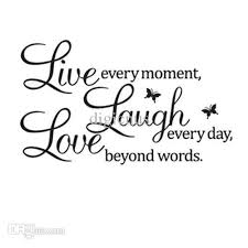 Live Laugh Love Quotes Enchanting S48q Diy Live Laugh Love Quote Vinyl Decal Removable Art Wall