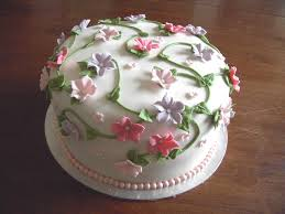 Flower Garden Cake Ideas Flower Cakes Decoration Ideas