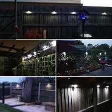 solar fence lights decorative lights