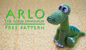 Free Crochet Dinosaur Pattern Extraordinary Crochet Drawn And Hooked