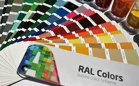 Ral Powder Coat Color Chart Ral Color Chart Alphabet Coatings
