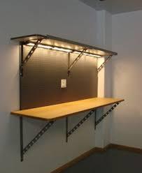 diy garage lighting. I Like The Idea Of Doing Rope Lights Above Garage Work Bench Diy Lighting L