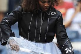 virgil abloh unveils custom off white x nike leather jacket for serena williams