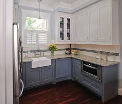 {Shades of} Gray & White Kitchens -- Choosing Cabinet Colors - The Inspired