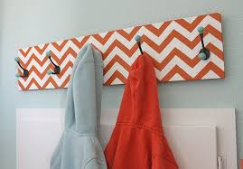 Diy Kids Coat Rack Interesting 32 Creative DIY Coat Racks The Budget Decorator