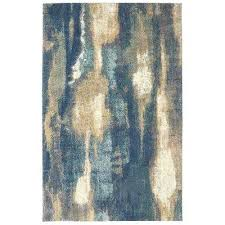 brown and blue area rugs blue isanotski brown blue area rug