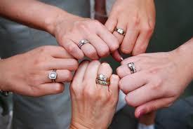 как носить обручальное и помолвочное кольцо полезные материалы на