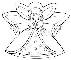 best christmas angels images on pinterest   colouring  boy    angels    lovely angels and starred dress coloring page