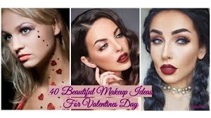 40 beautiful makeup ideas for valentines day