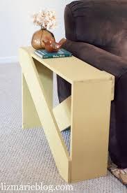 19 easy unique diy side table ideas