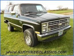 1986 86 Chevrolet Chevy 4x4 K5 Blazer Silverado Black original ...