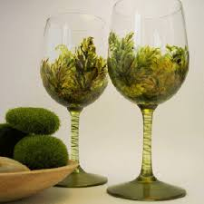 Wine Glass Decorating Designs Painted Wine Glasses Ideas glass painting designs are great 97