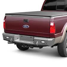 TrailReady® 18560 - Full Width Black Rear HD Bumper